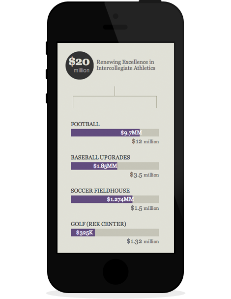 Because Furman Matters Campaign Progress mobile